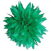 Помпон зеленый 35 см свадебный