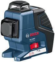 Построитель плоскостей, одновременно проецирует горизонтальную и вертикальную плоскость (360°) Bosch GLL 2-80