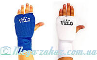 Накладки для карате удлиненные (перчатки для карате) Velo 10019: хлопок/эластан, L/XL