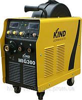 Сварочный инвертор KIND MIG-300 (4-х роликовый механизм)
