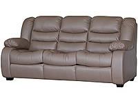 """Кожаный прямой диван """"Ashley"""" (Эшли)"""