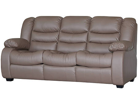 Шкіряний диван Ashley, не розкладний диван, м'який диван, меблі з шкіри, диван, фото 2