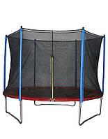Батут детский HouseFit HSF 12FT (Батут d=3.6м с сеткой и лестницей)