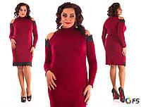 Женское платье №3386-82 большие размеры