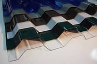 Волнистый профилированный поликарбонат (шифер)