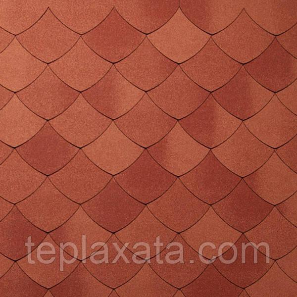 Черепица TEGOLA (Premium) Versaille Красный майолика