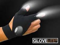 Перчатка со встроенным фонариком Glove Light