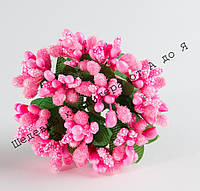 Тычинки Ярко-розовые на проволоке