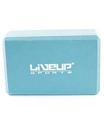Блок для йоги EVA LiveUp LS3233A-b