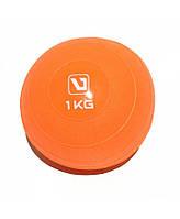 Медбол мягкий 1 кг SOFT WEIGHT BALL LiveUp LS3003-1