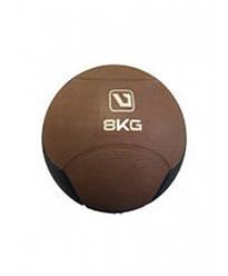 Медбол твердый 8 кг MEDICINE BALL LiveUp LS3006F-8