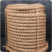 Верёвка джутовая крученая 200м