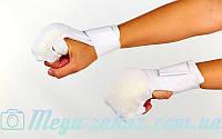 Накладки для карате (перчатки для карате) 1041: хлопок/эластан, M-L