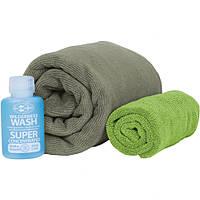 Набор полотенец Sea To Summit Tek Towel Wash Kit Large eucalyptus