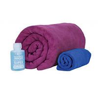 Набор полотенец Sea To Summit Tek Towel Wash Kit Medium berry
