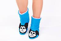 "Флисовые тапочки-сапожки ""Микки Маус"" (взрослые, размер 33-45)"