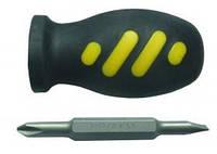 Отвертка мини 2в1 PH2-SL5,5x75мм CrV