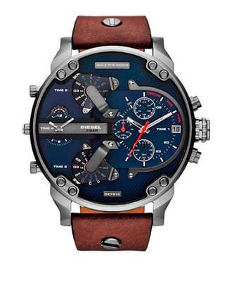Мужские часы Diesel Brave, кварцевые, элитные часы Дизель Брейв, реплика, фото 2
