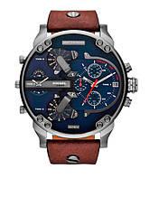 Мужские часы Diesel Brave, кварцевые, элитные часы Дизель Брейв, реплика, отличное качество!