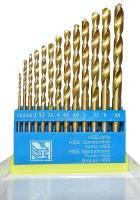 Набор сверла по металлу hss титан 13шт,1.5-6.5мм (пл)