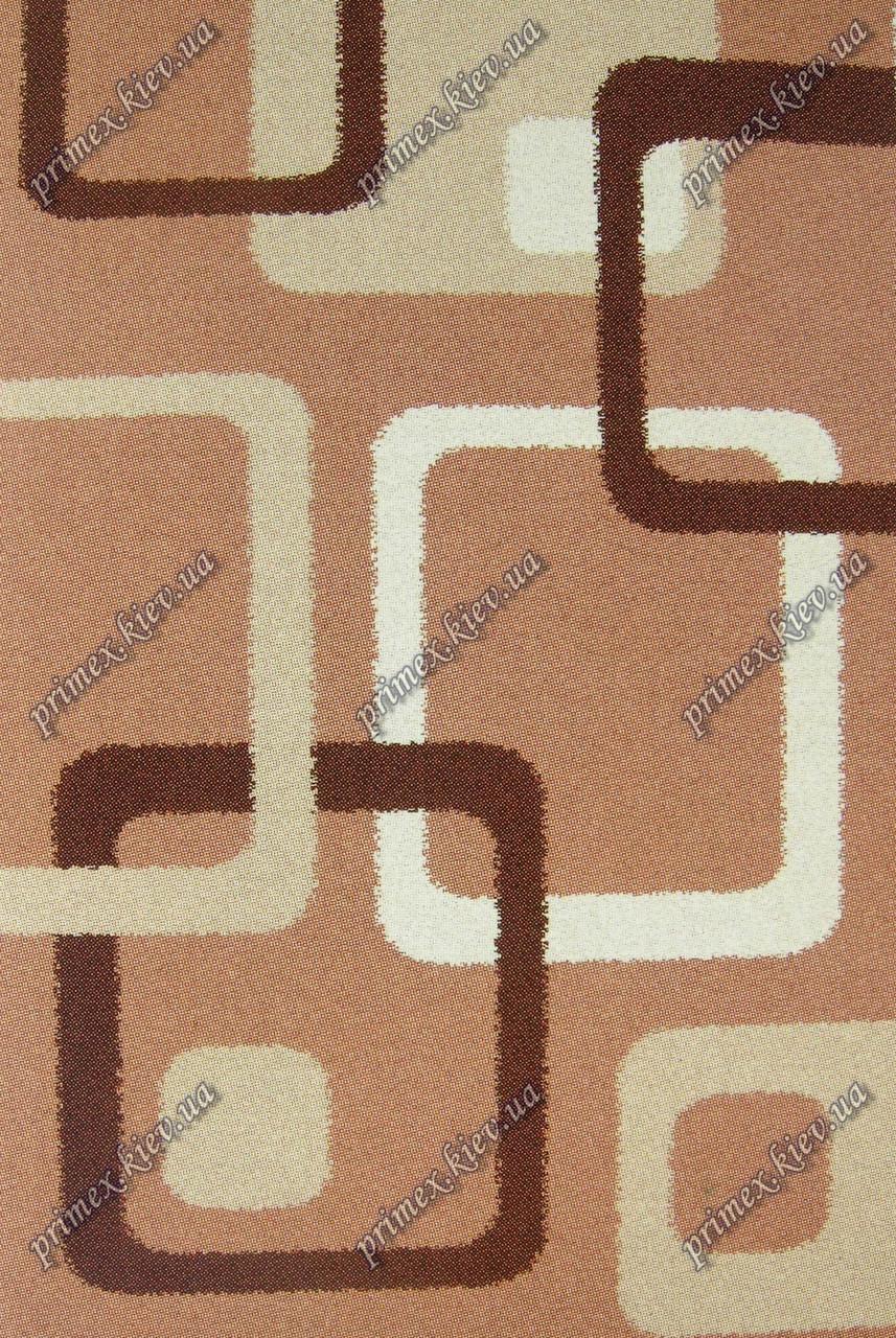 """Высоковрсный килим Шаггі """"Петля"""", колір темно-бежевий"""