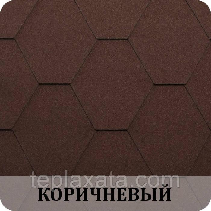 Черепица KATEPAL Classic KL Коричневый
