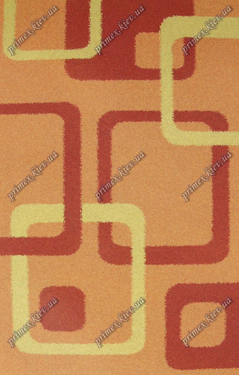 """Высоковрсный ковер Шагги """"Петля"""", цвет оранжевый"""