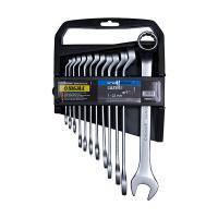 Ключи рожково-накидные глубокие 12шт 7-22мм CrV satine Sigma 6010241