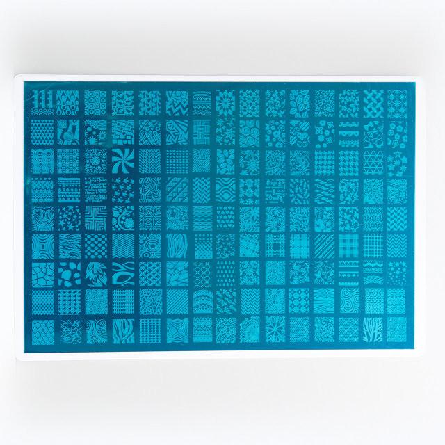Пластина для стемпинга большая 32*21 см на пластмассовой основе