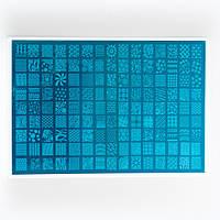 Пластина для стемпинга большая 32*21 см на пластмассовой основе, фото 1