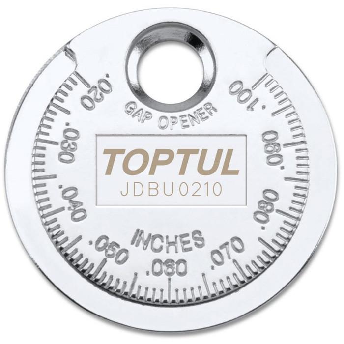 "Приспособление типа ""монета"" для проверки зазора между электродами свечи TOPTUL JDBU0210"