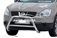 Кенгурятник для Nissan Qashqai 2007-2010  п.к. RR006