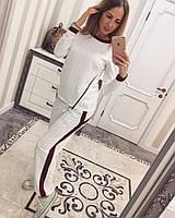 Женский спортивный костюм со змейкой, фото 1