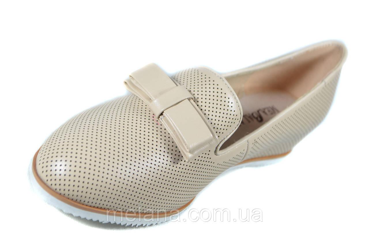 658a8d5f5 Бежевые туфли женские на платформе танкетке Mea Balan, цена 994,50 грн.,  купить в Харькове — Prom.ua (ID#493996996)