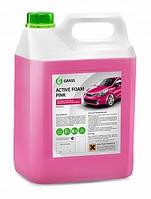 Активная пена «Active Foam Pink» 6 кг. цветная пена