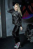 Женский велюровый спортивный костюм стильный Philipp Plein