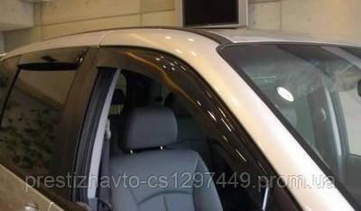 Дефлекторы окон (ветровики) Fiat Doblo с 2010 года