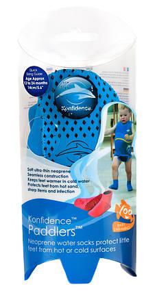 Носки для бассейна и пляжа Paddlers, Цвет: Nautical Blue, L/ 12-24 мес, фото 2