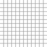 Мозаика Paradyz Albir (kostka 2,3 x 2,3) 30x30 bianco