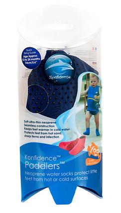 Носки для бассейна и пляжа Paddlers, Цвет: Navy, M/ 6-12 мес, фото 2