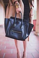 Элегантная женская сумка Celine в черном цвете
