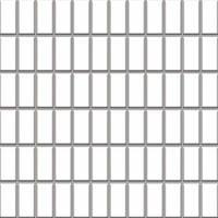 Мозаика Paradyz Albir (kostka 2,3 x 4,8) 30x30 bianco