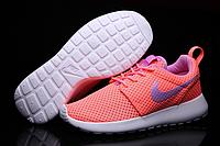 Кроссовки Nike Roshe Run женские ярко розовые 6024