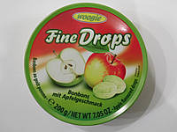 Леденцы Woogie Fine Drops со вкусом яблока 200г, фото 1