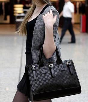 Шикарная сумка в шахматы, фото 2