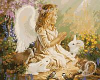 """Картина по номерам Идейка """"Ангел"""" (KH2306) 40 х 50 см"""