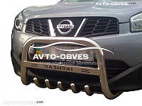 Кенгурятник Can otomotiv для Nissan Qashqai | 2+