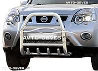 Защита переднего бампера Nissan X-Trail T31 2007-2014