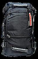 Рюкзак сумка городской из полиэстера черного цвета HSY-005543