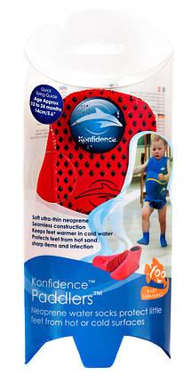 Носки для бассейна и пляжа Paddlers, Цвет: Red, L/ 12-24 мес, фото 2